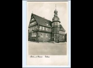 Y19360/ Höxter Rathaus Foto AK 1937