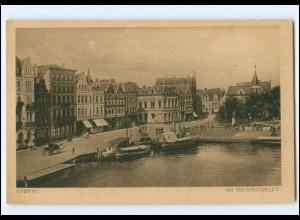 Y19357/ Emden Am Rathausdelft AK ca.1925