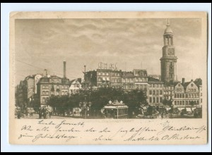 Y19356/ Hamburg Zeughausmarkt AK 1900