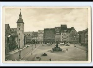 Y19347/ Freiberg Sa. Obermarkt Foto AK 1935