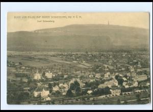 Y19335/ Dorf Schneeberg Blick von Eulau Böhmen AK ca.1914
