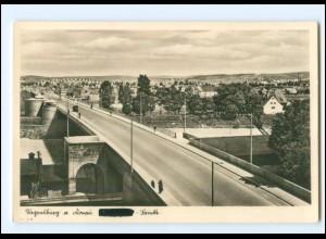 Y19330/ Regensburg Brücke Foto AK ca.1935