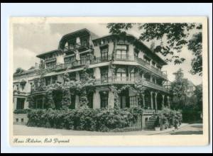 Y19317/ Bad Pyrmont Haus Hölscher AK 1956