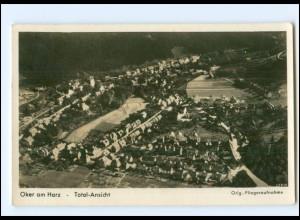 V1794-3380/ Oker Harz bei Goslar Fliegeraufnahme Foto AK 1939