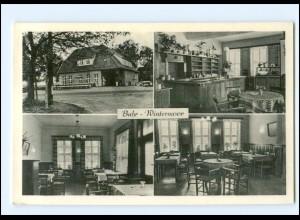 Y19323/ Buhr - Wintermoor Lüneburger Heide Ak ca.1955