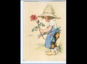 Y19232/ Lungershausen AK Kind als Gärtner