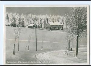 Y19236/ Wanderheim d. Turngemeinde Zwickau i. Oberjugel. AK