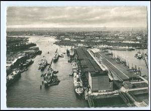 V1776/ Hamburg Hafen Schiffe Ak ca.1960