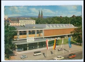 Y19248/ Wiesbaden Rhein-Main-Halle AK 1964