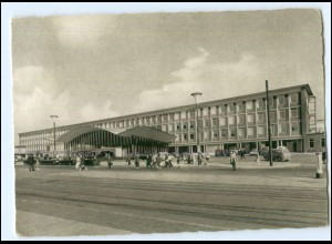 Y19250/ Bochum Hauptbahnhof AK 1959
