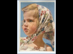 Y19259/ Hübsches Mädchen Nr. 1222 AK 50er