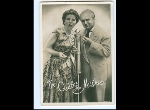 Y19269/ The Quick`s with Musikus Foto AK Variete ca. 1955