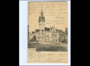 Y19385/ Braunschweig Rathaus AK 1905