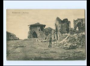 Y19382/ Richecourt Pfarrhaus zerstört 1- Weltkrieg AK ca.1915