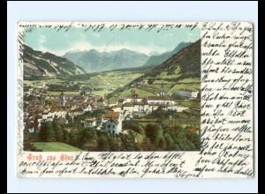 Y19381/ Gruß aus Chur Schweiz AK 1901