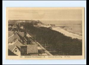 Y19401/ Ostseebad Brunshaupten Westl. Bülow-Weg AK ca.1925