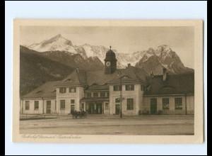Y19407/ Garmisch-Partenkirchen Bahnhof AK ca.1925
