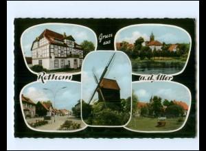 V1821-2818/ Rethem Aller Windmühle AK 1965