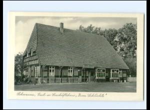 """Y19499/ Schwarme Grafschaft Hoya Gasthaus """"Zum Schlichte"""" AK ca.1955"""