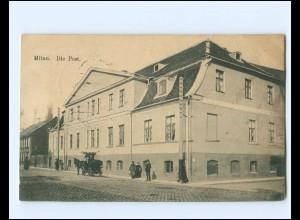 V1822/ Mitau Die Post Lettland AK 1916