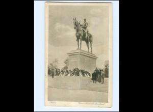 V1816/ Stettin Kaiser Friedrich-Denkmal AK 1920 Pommern