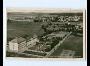 V1823-7918/ Illertissen Ober-Realschule der Schulbrüder Luftbild Foto AK