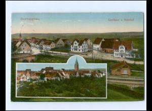 Y19530/ Dornstetten Gasthaus zum Bahnhof AK