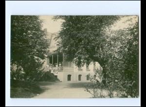 V1827/ Hamburg Altona Friedensalle Ecke Moortwiete Schwiens Wohnaus 1914 Foto AK