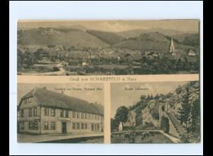 V1815/ Scharzfeld Harz bei Herzberg Gasthof zur Tanne AK 1919
