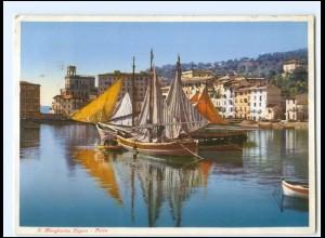 Y19469/ S. Margherita Ligure - Porto Hafen Italien AK 1935