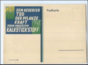 Y19474/ Kalkstickstoff Reklame Werbung AK 1932