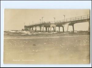 XX13992/ Swinemünde Seebrücke Foto AK ca.1925 Pommern