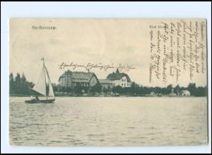 XX13994/ Ost- Dievenow Hotel Silvana Pommern AK 1910