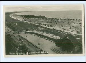 XX14003/ Swinemünde Strandpromenade Foto AK 1932