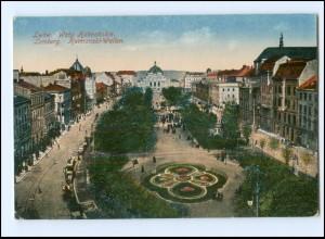 XX14005/ Lemberg Lwow Hetmanski-Wallen Ukraine AK 1916