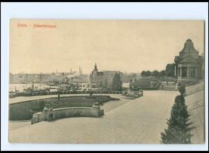 XX14007/ Stettin Hakenterrasse Pommern AK 1916