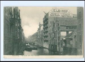 XX13865/ Hamburg Alt-Hamburg Fleet AK 1908