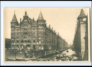 XX13868/ Hamburg Freihafen Speicherstadt Foto AK ca.1930