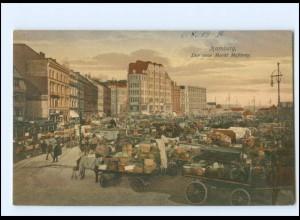 XX13874/ Hamburg Messberg Markthändler AK 1919