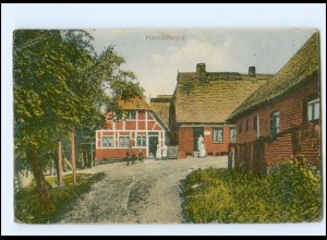 XX13889/ Hamburg Finkenwerder Bauernhaus AK ca.1912