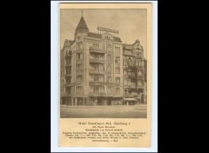 XX13890/ Hamburg St. Georg Hotel Frankfurter Hof, Spadenteich AK 1936