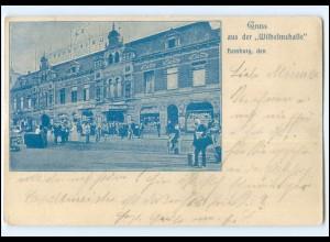 XX13914/ Hamburg St. Pauli Wilhelmshalle AK