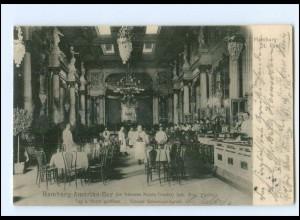 XX13910/ Hamburg St. Pauli Hamburg-Amerika-Bar AK 1902