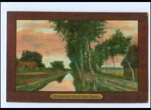 XX14078/ Worpswede Nach dem Regen Künstler Litho AK 1907