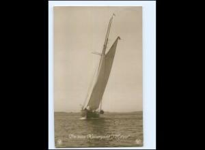 XX14063/ Die neue Kaiseryacht Meteor NPG Foto AK 1914