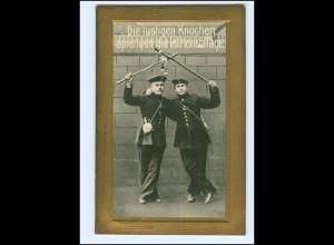 XX14061/ Soldaten die letzten 34. Tage AK 1914