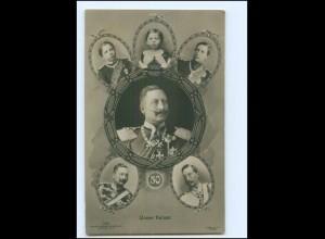 XX14058/ Unser Kaiser Wilhelm II. Foto AK 1910
