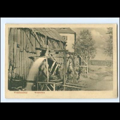 XX14048-8591/ Waldnaabtal Waldmühl Wassermühle bei Falkenberg AK 1927