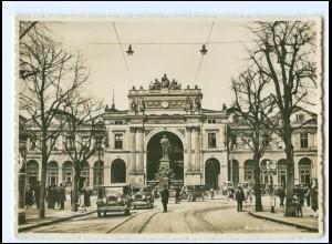 XX14033/ Zürich Hauptbahnhof Autos Foto AK ca.1930