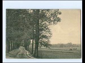 XX14672-185/ Krakow i. M. AK 1917 + Bahnpost Oberjersdahl - Toftlund